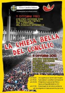 50 anno dall'apertura del Concilio Vaticano II