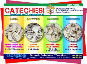 ISCRIZIONE ALLA CATECHESI E ALLE ATTIVITÀ ORATORIANE